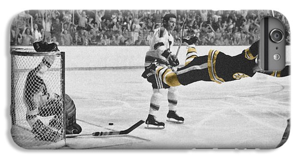 Hockey iPhone 7 Plus Case - Bobby Orr 2 by Andrew Fare