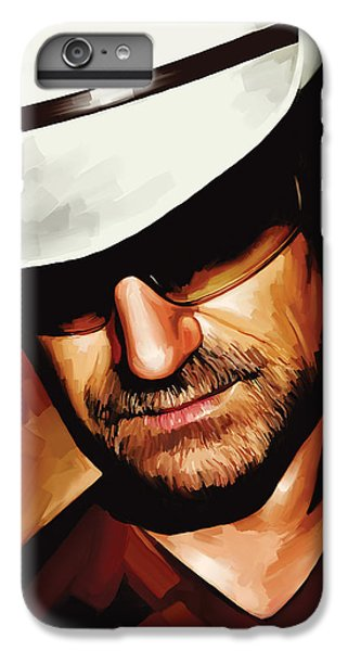 U2 iPhone 7 Plus Case - Bono U2 Artwork 3 by Sheraz A