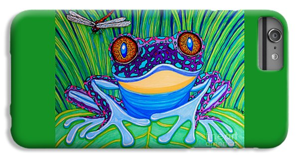 Bright Eyed Frog IPhone 7 Plus Case by Nick Gustafson