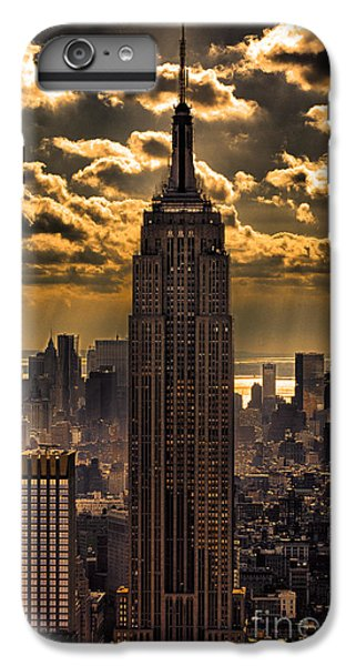 New York City iPhone 7 Plus Case - Brilliant But Hazy Manhattan Day by John Farnan