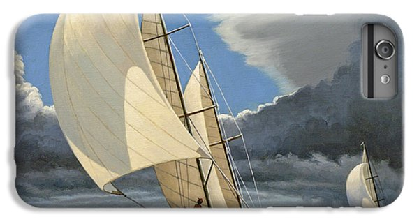 Boats iPhone 7 Plus Case - Broad Reach by Paul Krapf