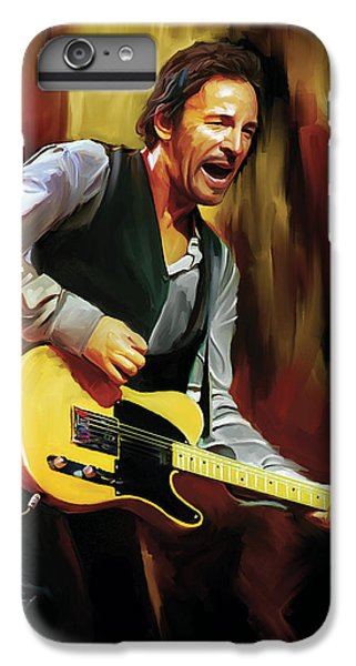 Bruce Springsteen iPhone 7 Plus Case - Bruce Springsteen Artwork by Sheraz A