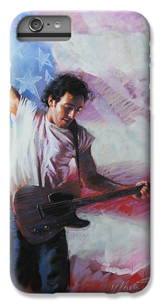 Bruce Springsteen iPhone 7 Plus Case - Bruce Springsteen The Boss by Viola El