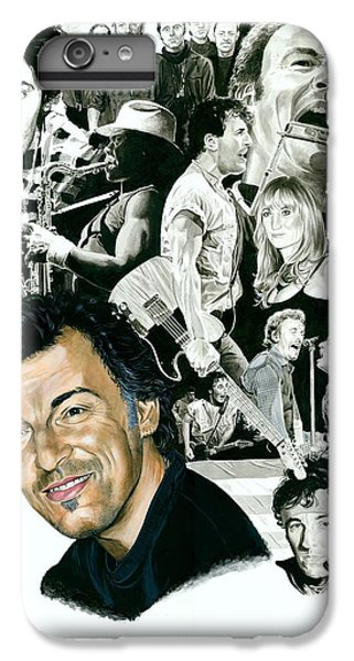 Bruce Springsteen iPhone 7 Plus Case - Bruce Springsteen Through The Years by Ken Branch