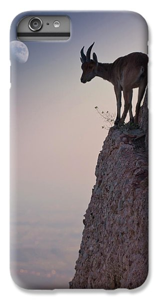 Goat iPhone 7 Plus Case - By A Bouquet Of Flowers by Renato J. L?pez