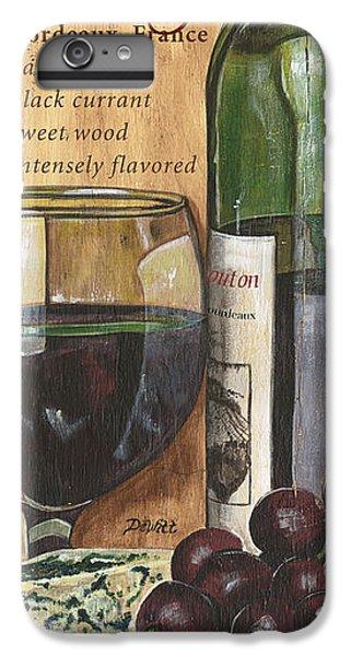 Red iPhone 7 Plus Case - Cabernet Sauvignon by Debbie DeWitt