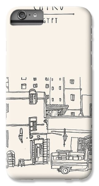 Craft iPhone 7 Plus Case - Cairo, Egypt, North Africa. A Man by Babayuka