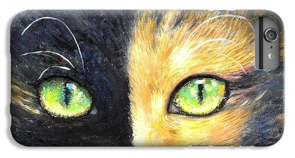 iPhone 7 Plus Case - Calico Cat by Shijun Munns