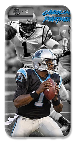Cam Newton Panthers IPhone 7 Plus Case by Joe Hamilton