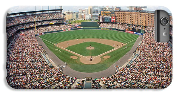 Oriole iPhone 7 Plus Case - Camden Yards Baltimore Md by Panoramic Images
