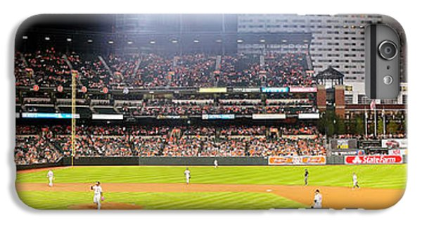 Oriole iPhone 7 Plus Case - Camden Yards by Mike Baltzgar