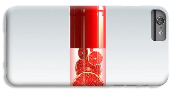 Capsule With Citrus Fruit IPhone 7 Plus Case