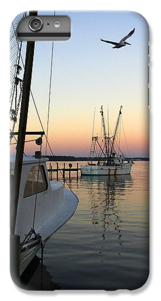 Shrimp Boats iPhone 7 Plus Case - Captain Tony - In For The Night by Mike McGlothlen