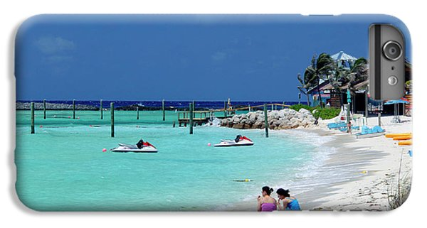 Jet Ski iPhone 7 Plus Case - Caribbean, Bahamas, Castaway Cay by Kymri Wilt