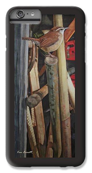 Wren iPhone 7 Plus Case - Carolina Wren by Ken Everett