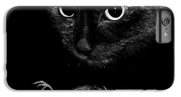 Wren iPhone 7 Plus Case - Cat With A Dead Bird by Cordelia Molloy