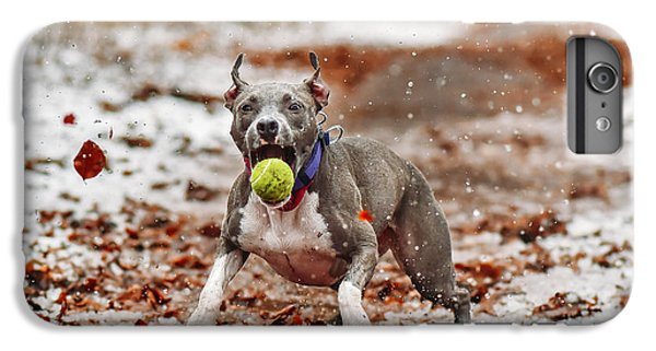 Tennis iPhone 7 Plus Case - Catch The Ball. by Davorin Volav?ek