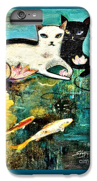 iPhone 7 Plus Case - Cats With Koi by Shijun Munns