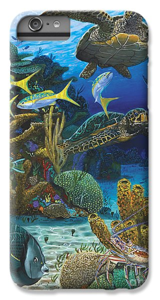 Parrot iPhone 7 Plus Case - Cayman Turtles Re0010 by Carey Chen