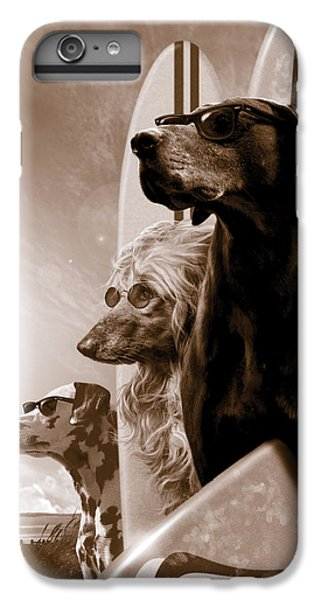 Dog iPhone 7 Plus Case - Changes by Garry Walton