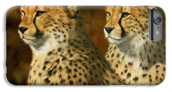 Cheetah iPhone 7 Plus Case - Cheetah Brothers by David Stribbling