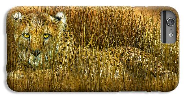 Cheetah - In The Wild Grass IPhone 7 Plus Case by Carol Cavalaris
