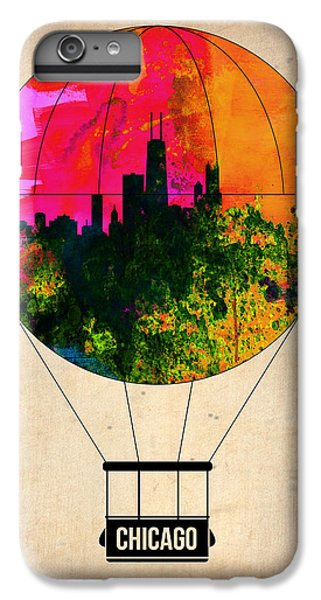 University Of Illinois iPhone 7 Plus Case - Chicago Air Balloon by Naxart Studio