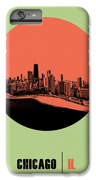 University Of Illinois iPhone 7 Plus Case - Chicago Circle Poster 1 by Naxart Studio