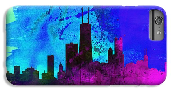 Chicago City Skyline IPhone 7 Plus Case by Naxart Studio