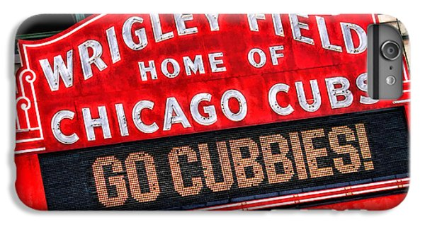 Wrigley Field iPhone 7 Plus Case - Chicago Cubs Wrigley Field by Christopher Arndt
