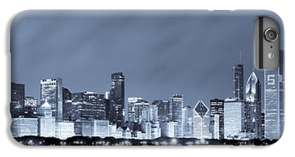 Chicago In Blue IPhone 7 Plus Case by Sebastian Musial