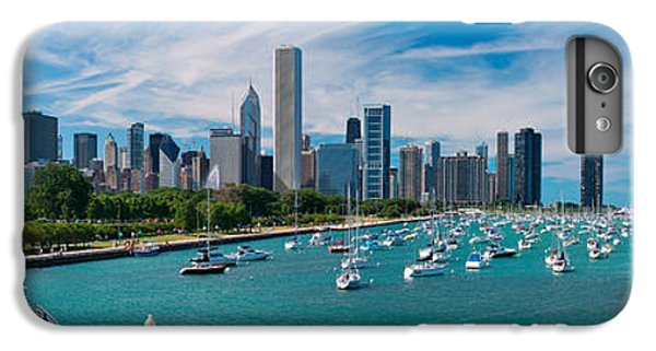 Chicago Skyline Daytime Panoramic IPhone 7 Plus Case by Adam Romanowicz