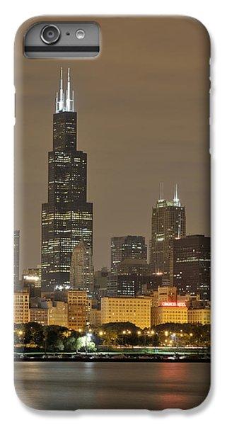Chicago Skyline At Night IPhone 7 Plus Case