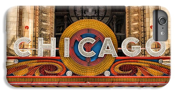 Chicago Theatre Marquee Sign IPhone 7 Plus Case by Christopher Arndt