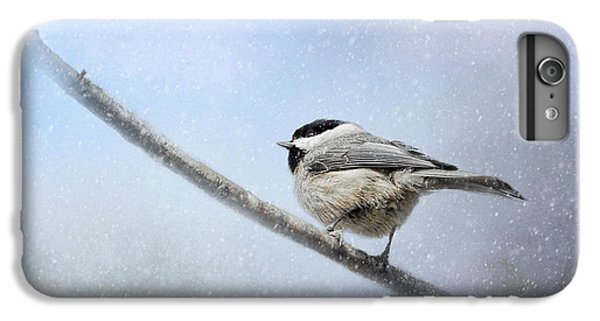 Chickadee In The Snow IPhone 7 Plus Case by Jai Johnson