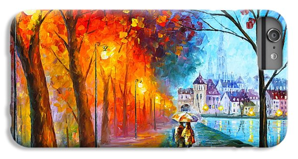 Afremov iPhone 7 Plus Case - City By The Lake by Leonid Afremov