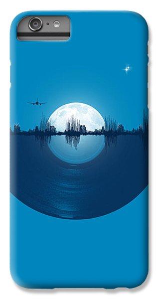 Moon iPhone 7 Plus Case - City Tunes by Neelanjana  Bandyopadhyay