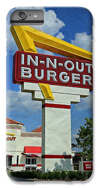 Classic Cali Burger 1.1 IPhone 7 Plus Case