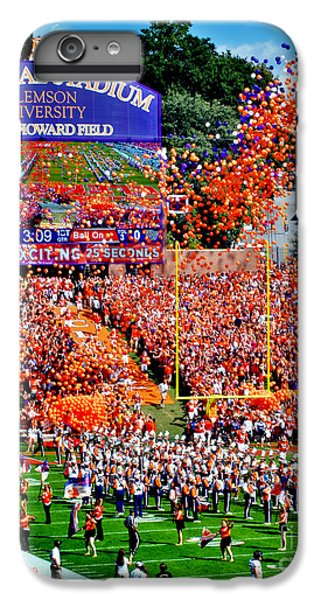 Clemson iPhone 7 Plus Case - Clemson Tigers Memorial Stadium by Jeff McJunkin