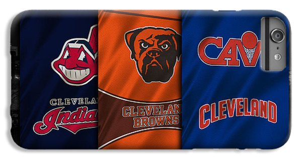 Hockey iPhone 7 Plus Case - Cleveland Sports Teams by Joe Hamilton