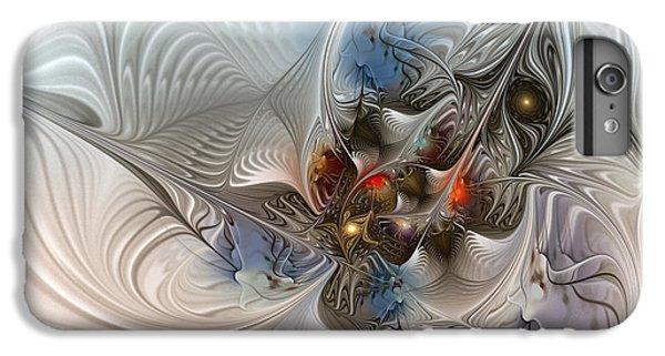 Cuckoo iPhone 7 Plus Case - Cloud Cuckoo Land-fractal Art by Karin Kuhlmann