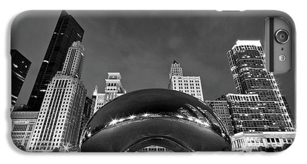 University Of Illinois iPhone 7 Plus Case - Cloud Gate And Skyline by Adam Romanowicz