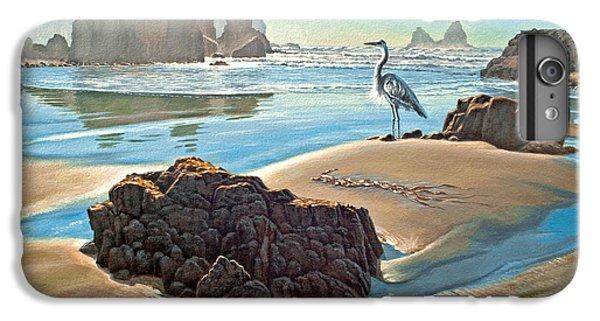 Heron iPhone 7 Plus Case - Coast With Great Blue Heron by Paul Krapf