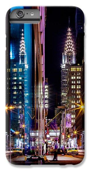 Chrysler Building iPhone 7 Plus Case - Color Of Manhattan by Az Jackson
