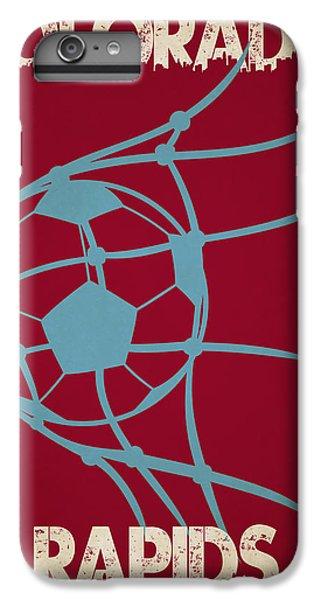 Soccer iPhone 7 Plus Case - Colorado Rapids Goal by Joe Hamilton