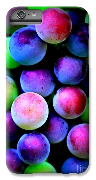 Colorful Grapes - Digital Art IPhone 7 Plus Case by Carol Groenen