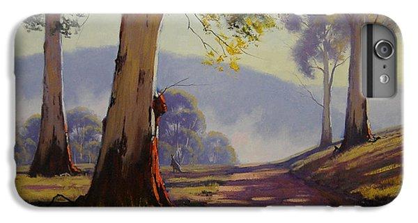 Kangaroo iPhone 7 Plus Case - Country Road Australia by Graham Gercken