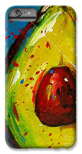 Crazy Avocado 4 - Modern Art IPhone 7 Plus Case