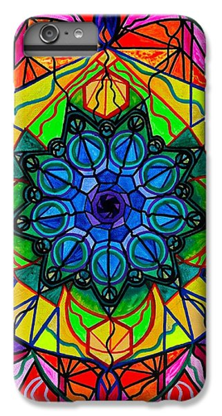 Swan iPhone 7 Plus Case - Creativity by Teal Eye  Print Store