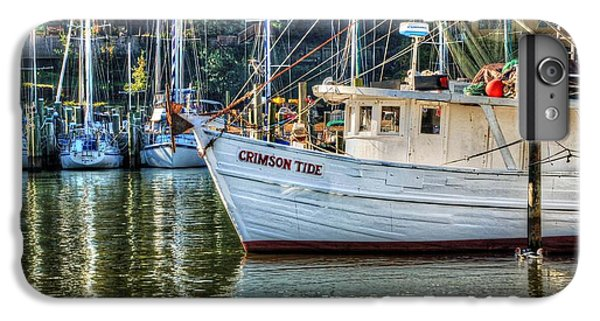 Shrimp Boats iPhone 7 Plus Case - Crimson Tide In The Sunshine by Michael Thomas